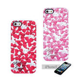 ★funbox生活用品★《Sanrio》HELLO KITTY緞帶蝴蝶結 iPhone5保護殼