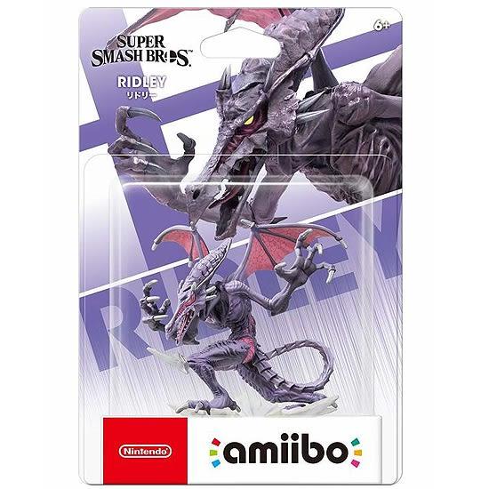 [哈GAME族]現貨 免運費 可刷卡 amiibo 公仔 明星大亂鬥 《利德雷》銀河戰士 適用 Switch NS 3DS