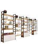 化妝品展示櫃陳列櫃包包鞋架貨架展示架自由組合可拆卸產品展示櫃   數碼人生