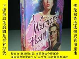 二手書博民逛書店英文原版罕見a warrior s heart 勇士之心Y927