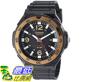 [美國直購] 手錶 Casio Men s Solar Powered Quartz Resin Automatic Watch Black MRWS310H-9BV