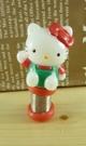 【震撼精品百貨】Hello Kitty 凱蒂貓~KITTY車票名片夾-紅招手