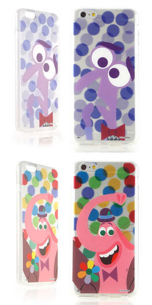 【DD現貨】iPhone 6S 迪士尼 Disney 腦筋急轉彎 Inside Out 可愛透明保護軟套人物 iPhone 6 plus 手機殼