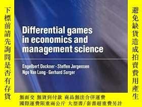 二手書博民逛書店Differential罕見Games In Economics And Management Science