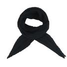 【南紡購物中心】ISSEY MIYAKE 三宅一生 PLEATS PLEASE 素面二折斜紋圍巾-黑