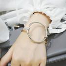 簡約金屬大圓圈圈手環 MISJ1512