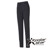 PolarStar 女 Soft Shell拼接保暖褲『黑灰』P15408