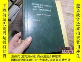 二手書博民逛書店high罕見pressure physics and chemi