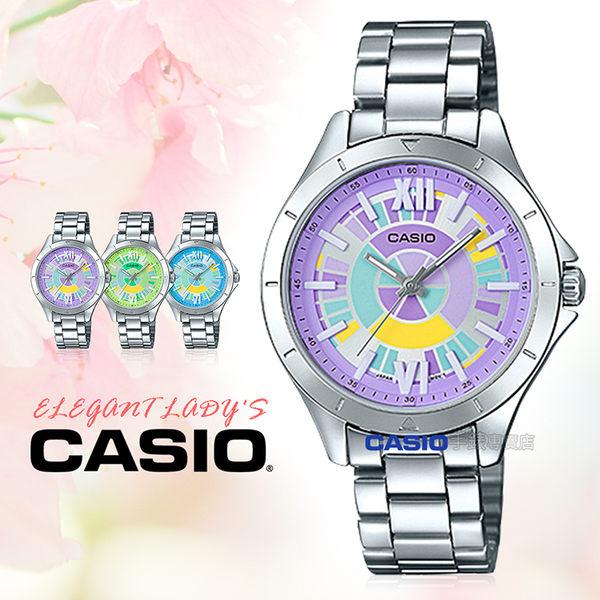 CASIO 卡西歐 手錶專賣店 LTP-E129D-6A 女錶 不鏽鋼錶帶 防水 礦物玻璃