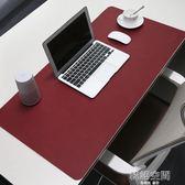 BUBM大號游戲滑鼠墊筆記本電腦鍵盤滑鼠墊兒童寫字台辦公桌墊訂製   韓語空間 igo