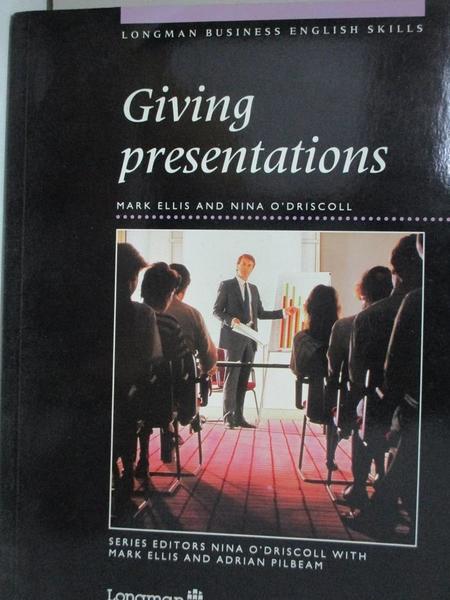 【書寶二手書T1/語言學習_EVC】Giving Presentations_Ellis, Mark