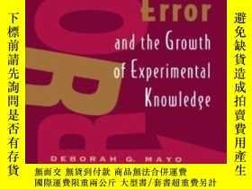 二手書博民逛書店Error罕見And The Growth Of Experimental KnowledgeY364153