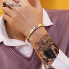 歐美時尚光面凹型手鐲男 潮人鈦鋼簡約情侶手飾開口刻字男女手環 蘿莉小腳丫