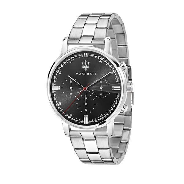 【Maserati 瑪莎拉蒂】/三眼鋼帶款(男錶 女錶 手錶 Watch)/R8873630001/台灣總代理原廠公司貨兩年保固