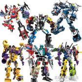 樂高積木機器人兒童益智力拼裝5玩具6男孩子9歲人仔8模型系列 名購居家