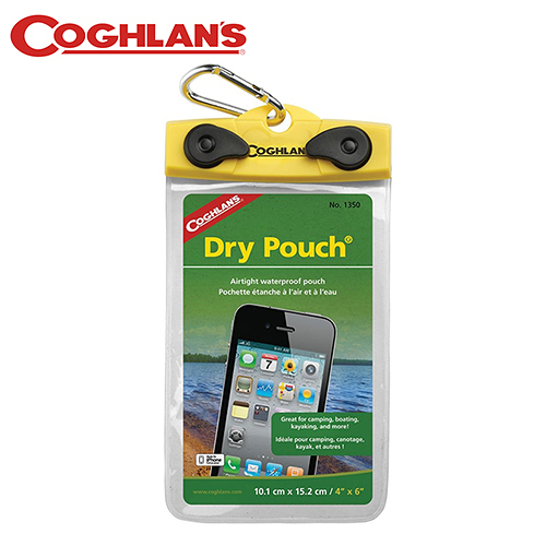戶外【Coghlans】加拿大 Load N Lock 4 x 6吋 手機防水袋 1350