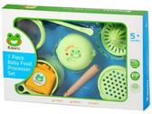 Kaeru 哈皮蛙 嬰幼兒七件組食物調理器 (收納袋) 560003