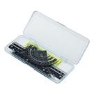 【KUTSUWA】度量尺組 附收納盒 (黑) KB031 /組
