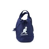 KANGOL 海軍藍 圓筒袋 帆布 英國 (布魯克林) 6925300787