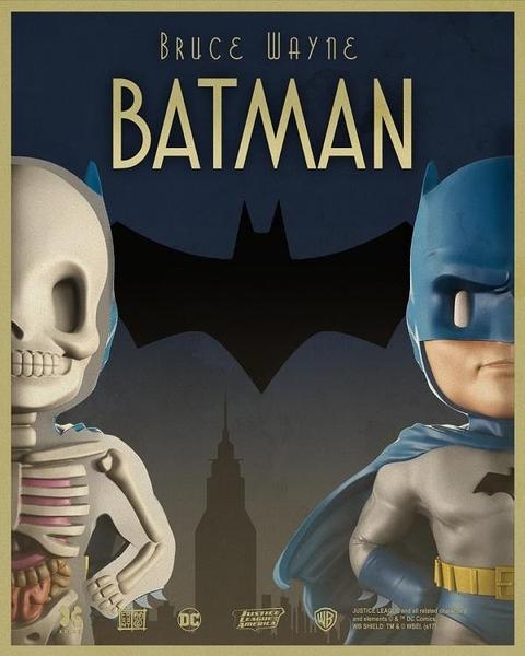 尺寸兩種以上請詢問報價4D XXRAY 藍色蝙蝠俠 Mighty J