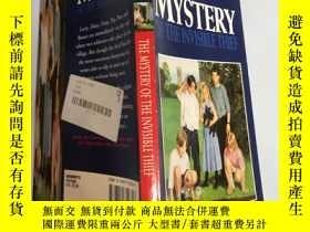 二手書博民逛書店The罕見Mystery of the Invisible Thief 隱形竊賊之謎Y200392