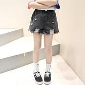 女童牛仔短褲2020夏季新款韓版中大童破洞牛仔褲兒童洋氣薄款熱褲 艾瑞斯居家生活