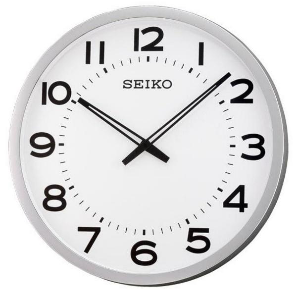 【時間光廊】SEIKO 日本精工 大型辦公室掛鐘(QXA563S)-白/51cm