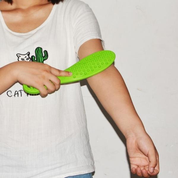 按摩器材 拍痧板經絡拍養生保健錘刮痧拍家用捶背器按摩棒敲背腿