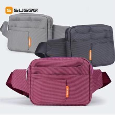 ★SUGEE 多功能時尚腰包/多口袋收納腰包/便攜腰包/手機包/相機包/零錢包 Samsung N7100