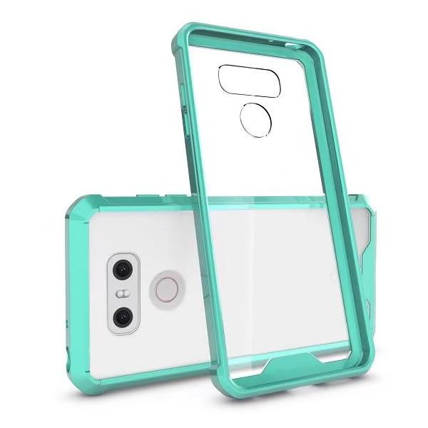 LG G6 透明鎧甲 全包 手機殼 防摔殼 保護殼 軟邊 後硬殼 透明殼