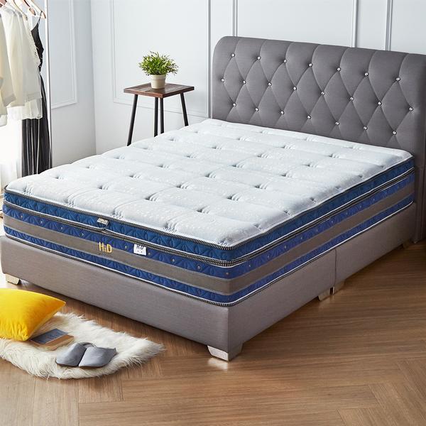 翠絲特舒柔針織環繞護邊三線獨立筒床墊/單人3.5尺/H&D東稻家居