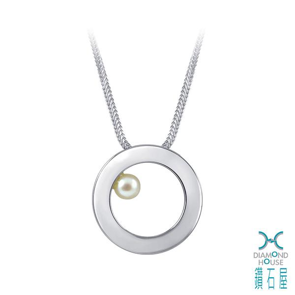 【鑽石屋】3mm珍珠項鍊