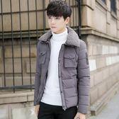 男士冬季羽絨服男棉衣外套男青年短款加厚棉服正韓學生潮流帥棉襖