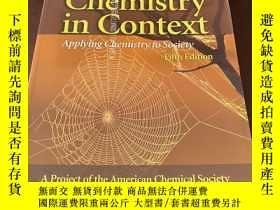 二手書博民逛書店Chemistry罕見in Context Applying C