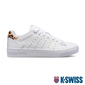 【超取】K-SWISS Court Frasco II時尚運動鞋-女-白/豹紋