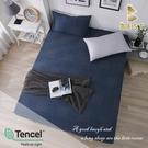 【BEST寢飾】天絲床包三件組 雙人5x6.2尺 一彎心跡 100%頂級天絲 萊賽爾 附正天絲吊牌 床單