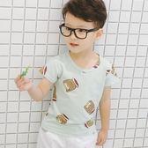 男童夏裝短袖T恤純棉2018新款中小兒童半袖竹節棉上衣寶寶韓版潮
