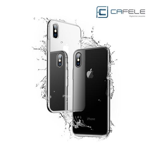 Cafele 玻璃手機殼 iPhone 11 Pro Pro Max XS XS Max XR X 8 7 6s Plus 玻璃殼 保護殼 裸機手感 透黑 透明