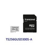 新風尚潮流 創見 手機用記憶卡 【TS256GUSD300S-A】 300S 256GB Micro-SD U3 A1 五年保固 MicroSD TF