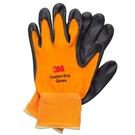 3M 亮彩舒適型 止滑 耐磨手套 橘色 L