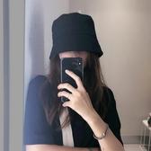 日本設計小眾風水桶漁夫帽!!好版型顯臉小圓頂鐘形盆帽韓版潮