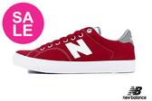 【出清下殺】New Balance 210 成人女款 輕熟女紅 綁帶休閒鞋 簡約LOGO O8487#紅色◆奧森