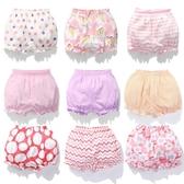 小女童純棉面包短褲嬰兒燈籠褲0女寶寶1大pp打底褲2外穿3歲夏薄款