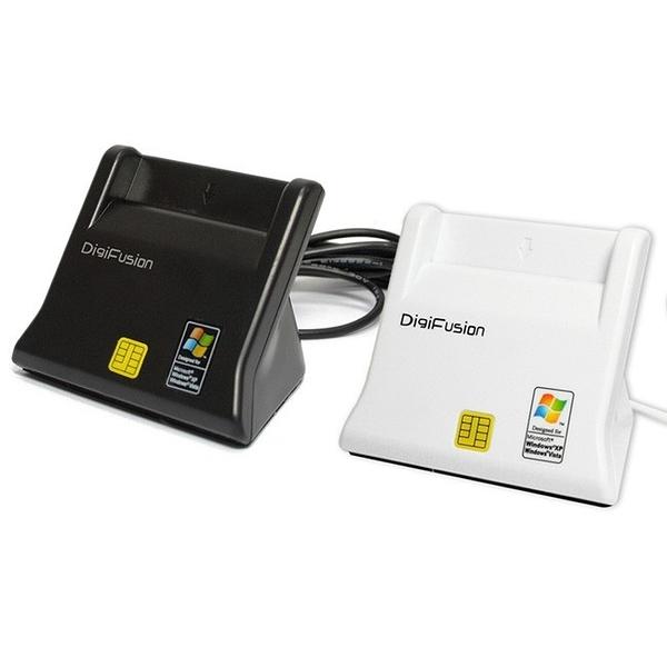 『時尚監控館』ATM 台灣現貨全新 伽利略 RU035 DigiFusion 直立式晶片讀卡機 自然人憑證 黑/白