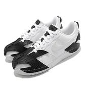 Nike 休閒鞋 NDSTRKT AF1 白 黑 男鞋 街頭風 橡膠貼片 反光 運動鞋 【ACS】 CZ3596-100