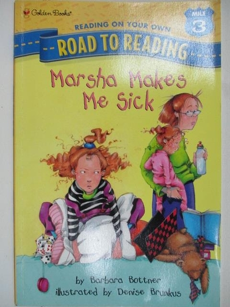 【書寶二手書T1/語言學習_I5D】Road to Reading-Marasha Makes me Sick