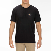 Hurley M CRE REST IN PARADISE SS BLACK T恤-(男)