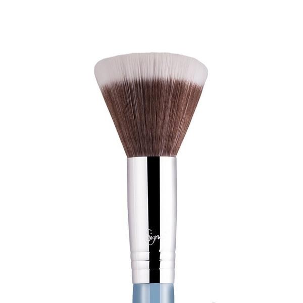Sigma F50 - DUO FIBRE(天藍色)【愛來客】美國Sigma官方授權經銷商 腮紅刷 散粉刷 蜜粉刷