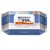 優生酒精濕巾80抽(超厚型)抗菌99.9% x3