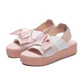 【現貨】PUMA Platform Slide 泫雅 厚底蝴蝶結涼鞋 緞帶款 涼鞋 韓國 限定 粉色 367746-01